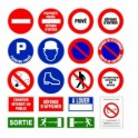 Panneau signalisat.parking prive
